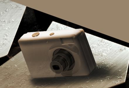 Digital Camera Render