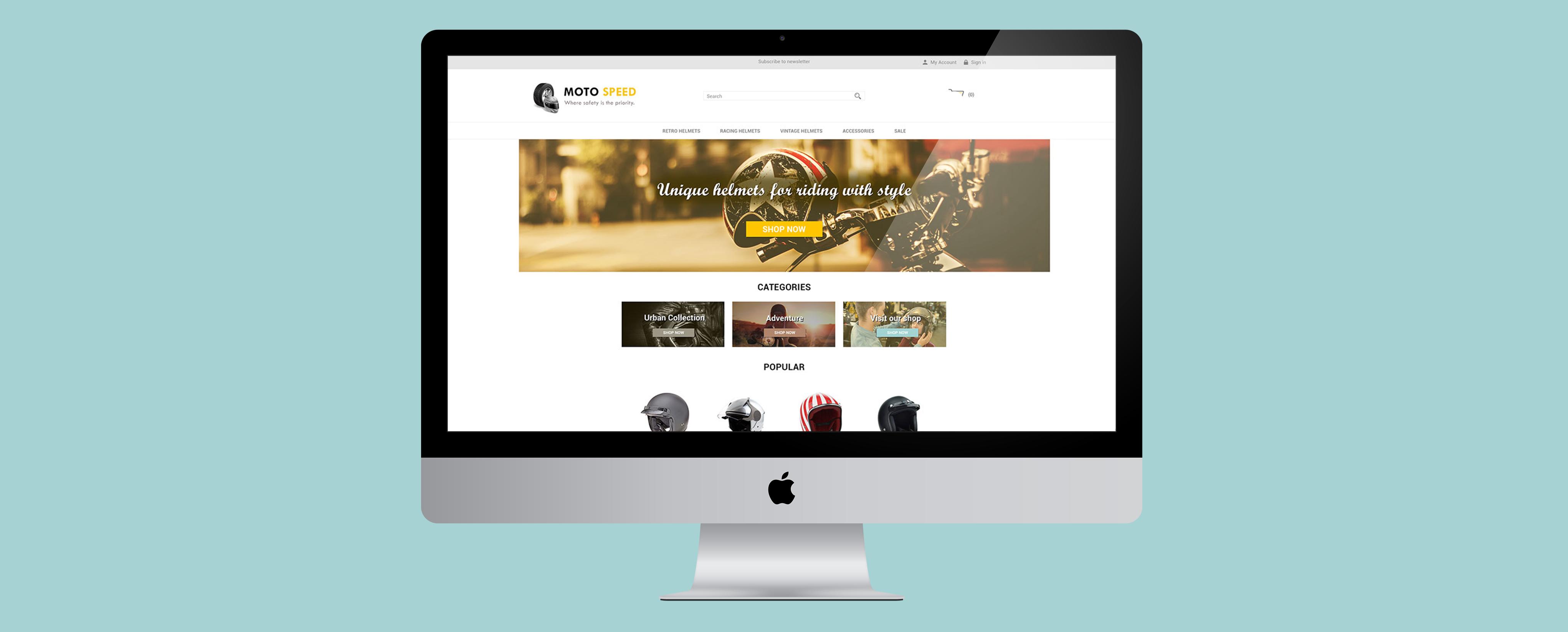 Moto Speed ePages Demo Shop