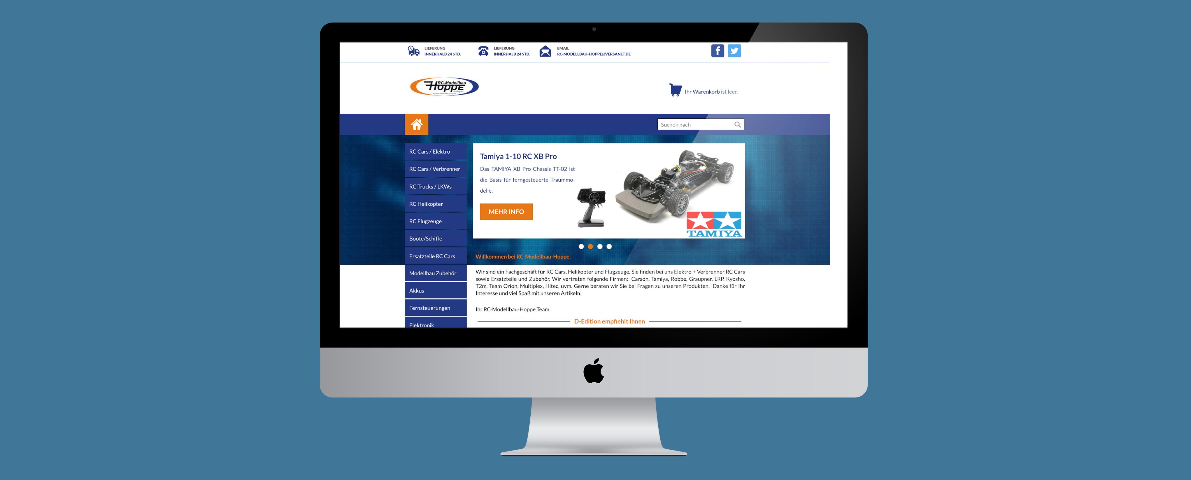 RC Hoppe Webshop
